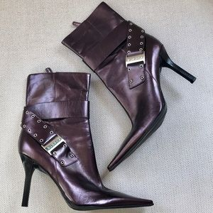 BCBGirls Heeled Booties with Side Buckle